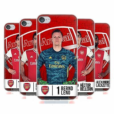 £14.64 • Buy OFFICIAL ARSENAL FC 2019/20 FIRST TEAM GROUP 1 GEL CASE FOR APPLE IPOD TOUCH MP3