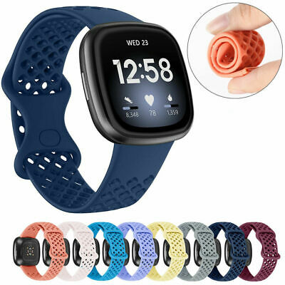 $ CDN6.78 • Buy For Fitbit Versa 3/ Sense Replacement Band Strap Silicone Bracelet Wristband