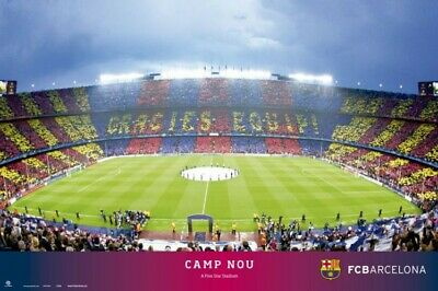 Football - FC Barcelona Camp Nou Stadium FCB Poster Print (36x24in) #89838 • 7.53£