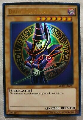 AU2.99 • Buy Yugioh Card - Dark Magician [LOB Art] *Ultra Rare* YGLD-ENC09 (LP)
