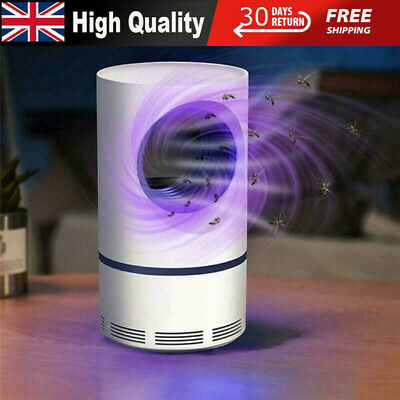 £10.99 • Buy Electric Mosquito Killer Lamp USB UV Insect Fly Pest Bug Zapper Catcher Trap