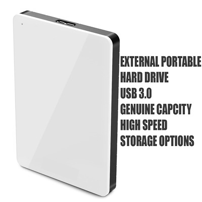 £21.99 • Buy Portable External High Speed Transfer Hard Drive Up To 1tb & 240 Ssd