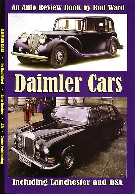 £8.99 • Buy Book - Daimler - Sovereign Conquest Majestic SP250 Dart Lanchester - Auto Review