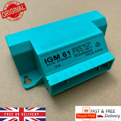£36.99 • Buy STOVES Cooker Ignition Unit  268900016 IGM 61