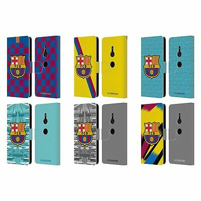 AU30.95 • Buy Official Fc Barcelona 2019/20 Crest Kit Leather Book Case For Sony Phones 1