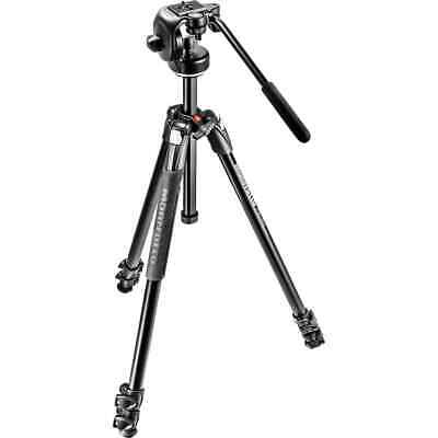 AU244.95 • Buy Manfrotto MK290XTA3-2W Tripod Kit With 128RC Fluid Head And Carry Bag