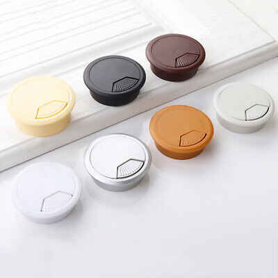Computer Desk Plastic Grommet  Grommet Table Cable Tidy Wire Hole Cover  60mm PC • 2.49£