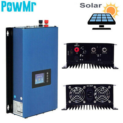 $459.99 • Buy 2000W Solar On Grid Tie Inverter AC 220V With Limiter Solar Panels Home System