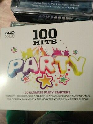 £3.30 • Buy Various Artists : 100 Hits: Party CD 5 Discs (2008)