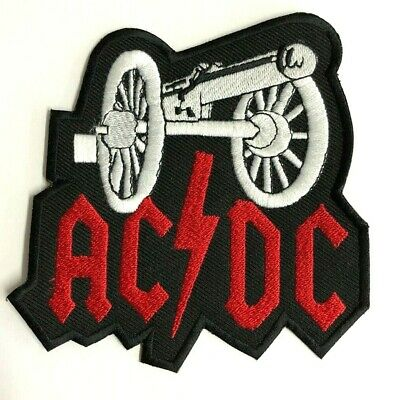 £2.89 • Buy ACDC CANON Rock Band Music Logo Patch Iron On Patch Sew On Embroidered Patch