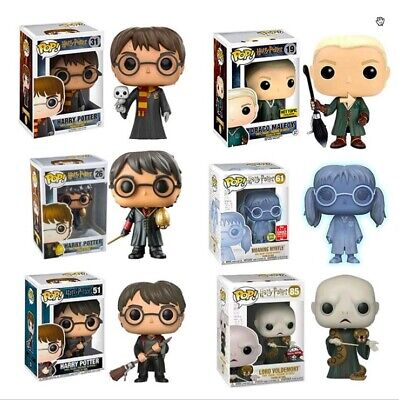 Funko POP Harry Potter Draco Malfoy Moaning Myrtle Exclusive Action Figure Toys • 12.88£