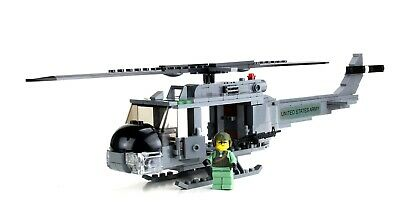 £80.01 • Buy Custom Army UH-1 Utility Helicopter Made With Real LEGO® Vietnam