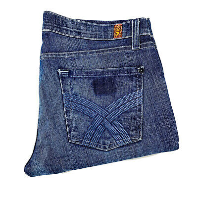 AU44.10 • Buy 7 For All Mankind 'Gwenevere' Super Skinny Distressed Jean Size 29 HEMMED