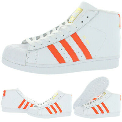 £36.20 • Buy Adidas Originals Pro Model J Boy's Leather Striped Athletic Basketball Shoes