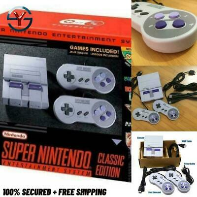 $ CDN87.47 • Buy New Super Output Snes Retro Classic Handheld Video Game Player Tv Mini Game Cons