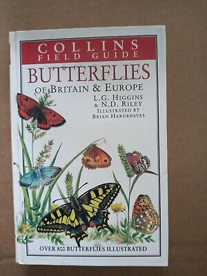 £10 • Buy Field Guide To The Butterflies Of Britain And Europe  By L.G. Higgins 0002192411