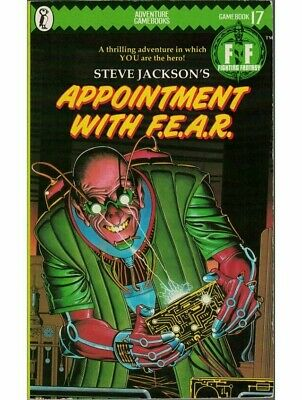 AU28.78 • Buy Fighting Fantasy Appointment With F.E.A.R. #17 (1st Edition)