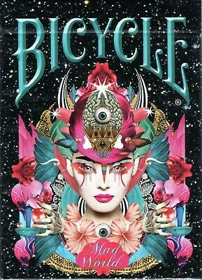 £11.54 • Buy Bicycle Mad World Playing Cards Poker Deck Collectable New Sealed Rare