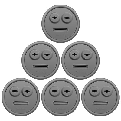 $ CDN16.10 • Buy 6-Pack Thermometer And Probe Grommet For BBQ Grills,  For Weber 85037 Smokey Mou