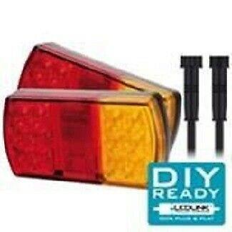AU142.95 • Buy Led Combination Trailer Lamp - Twin Pack And Loop Kit
