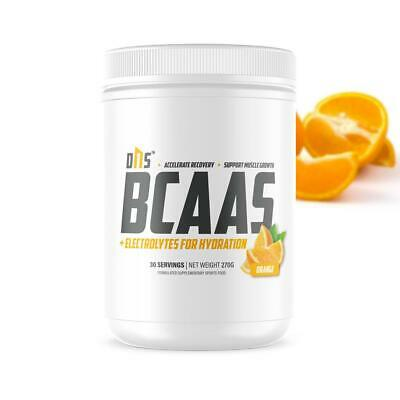 AU22.99 • Buy BCAA 4.1.1 + Electrolytes 30 Serve 270g Branch Chain Amino Acids Intra Workout
