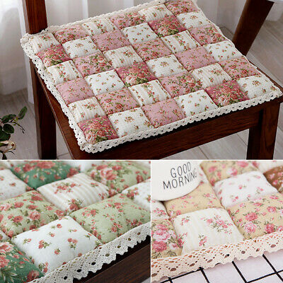 AU14.99 • Buy Tie On Chair Cushion Seat Pads Kitchen Dining Room Office Soft Patio AU