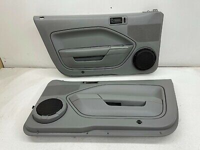 $200 • Buy 2005-2009 OEM Ford Mustang Dove Grey Door Panels Driver Passenger Shaker |S9905