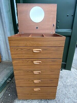 £50 • Buy Schreiber Furniture Chest Drawers Bedroom Tallboy Dressing Table