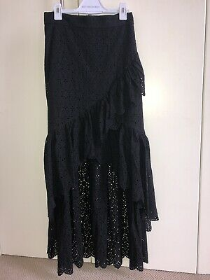AU130 • Buy SIR The Label Black Maxi Skirt Size 0/XS