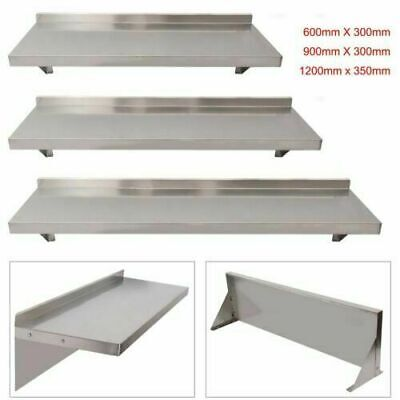£28.99 • Buy Commercial Catering Stainless Steel Shelves Kitchen Wall Shelf 600 - SS