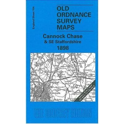 £4.93 • Buy Cannock Chase And SE Staffordshire (Old O.S. Maps Of En - Map NEW - 2001-01-29