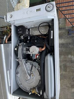 £150 • Buy Viessmann Vitodens 050W Gas Combi Boiler Full Working Parts Used For Spare Repir