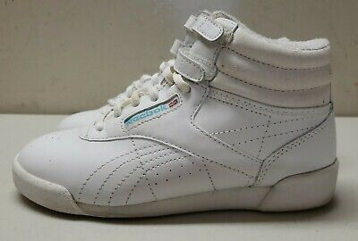 £37.56 • Buy Vintage 1980s Reebok Freestyle High Top Classic Size 2.5 Womens