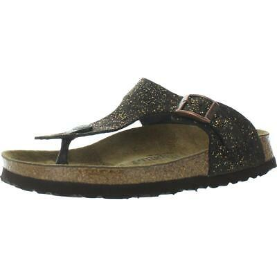 Papillio By Birkenstock Womens Gizeh Leather Footbed Sandals Shoes BHFO 4180 • 34.75£