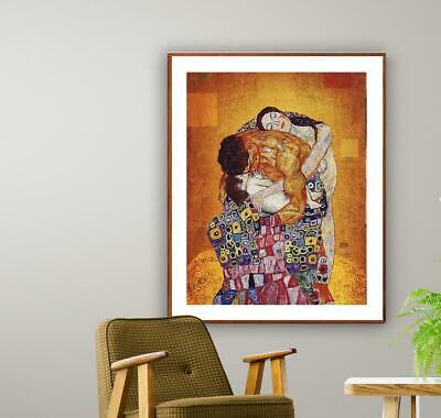 $ CDN23.56 • Buy The Family By Gustav Klimt Fine Art Print - Poster Paper, Sticker Poster Gift