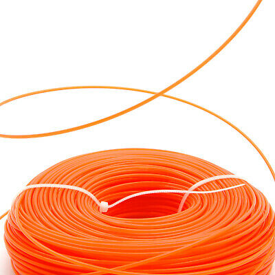 Heavy Duty 2.4mm X 100m Replacement Strimmer Line Cord Wire For Petrol Strimmers • 10.99£