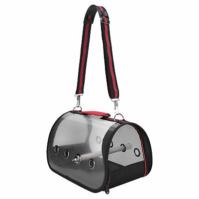 £16.85 • Buy Pet Parrot Birds Carrier Backpack Travel Outdoor Transport Cage Breathable Bags