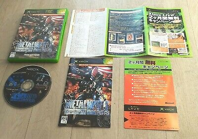 AU200.52 • Buy Metal Wolf Chaos - Microsoft XBOX - NTSC-J JAP JAPAN - Complet - Near Mint