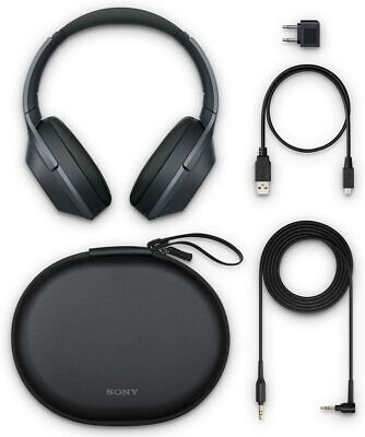 AU506.45 • Buy Sony WH-1000XM2 Over The Ear Headphones - Black [New + Tracking] #m1830