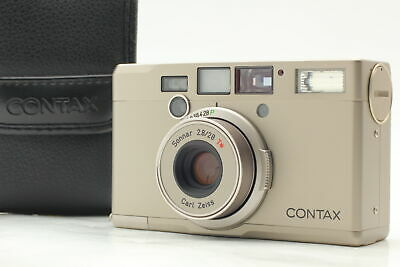 $ CDN286.20 • Buy [MINT] Contax Tix Carl Zeiss Sonnar T* 28mm F/2.8 APS Film Camera From JAPAN