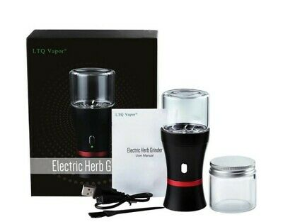 £29.99 • Buy Electric Herb/tobacco/tea/dry Flower Grinder 1100mah Stainless USB Rechargeable