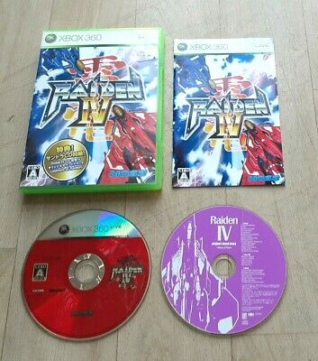 AU146.49 • Buy Raiden IV - Microsoft XBOX 360 - NTSC-J JAP JAPAN - Complet - Near Mint