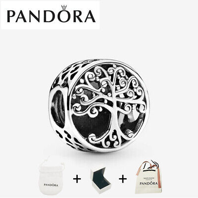 AU25.97 • Buy New Sterling Silver Pandora Family Roots Tree Charm Silver S925 ALE 797590+Box