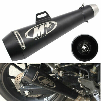 $79.99 • Buy Motorcycle Exhaust Muffler Pipe M4 DB Killer Slip On Exhaust For GSXR 750 YZF R6