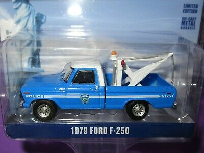£13.90 • Buy Greenlight (1:64) Ford F-250, Nypd Recovery Tow Truck, New York Police Pick Up