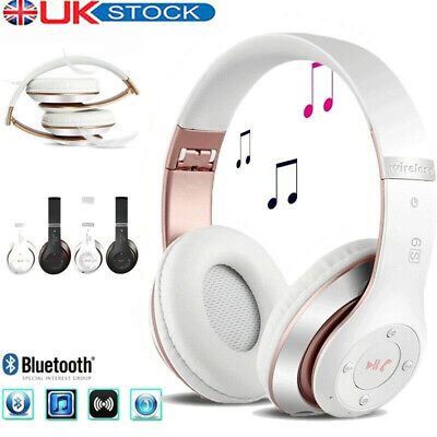£16.99 • Buy Wireless Bluetooth Headphones With Noise Cancelling Over Ear Stereo Earphones UK