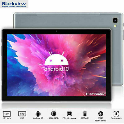 AU244.39 • Buy Blackview Tab 8 Tablet PC 10.1  5G WiFi 4GB+64GB Android 10 6580mAh Octa Core