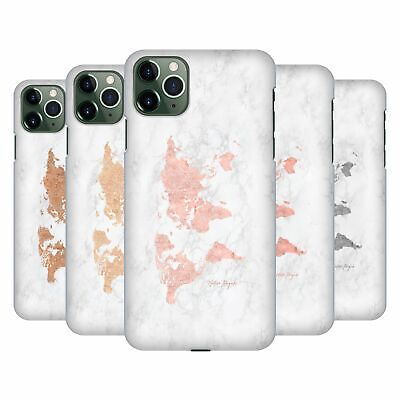 £14.65 • Buy NATURE MAGICK ROSE GOLD WORLD MAP ON MARBLE CASE FOR APPLE IPHONE PHONES