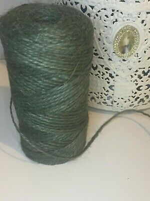 £0.99 • Buy 10m Metre Natural Green Rustic Style Twine String Craft Jute Shabby Cord