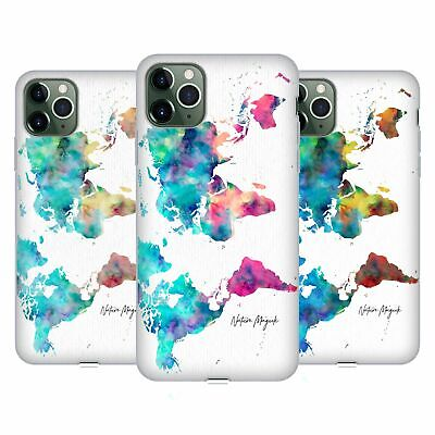 £14.65 • Buy NATURE MAGICK WORLD MAP PAINTED WATERCOLOR SOFT GEL CASE FOR APPLE IPHONE PHONES